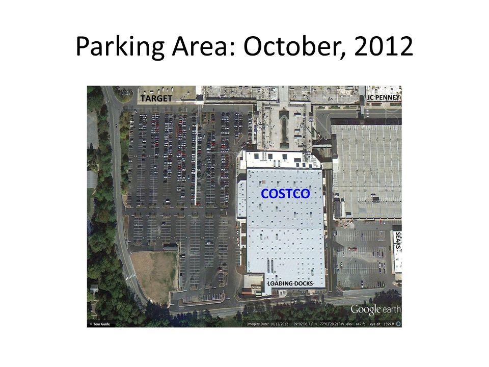 Parking Area: October, 2012