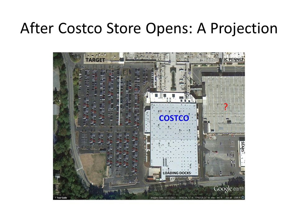 After Costco Store Opens: A Projection