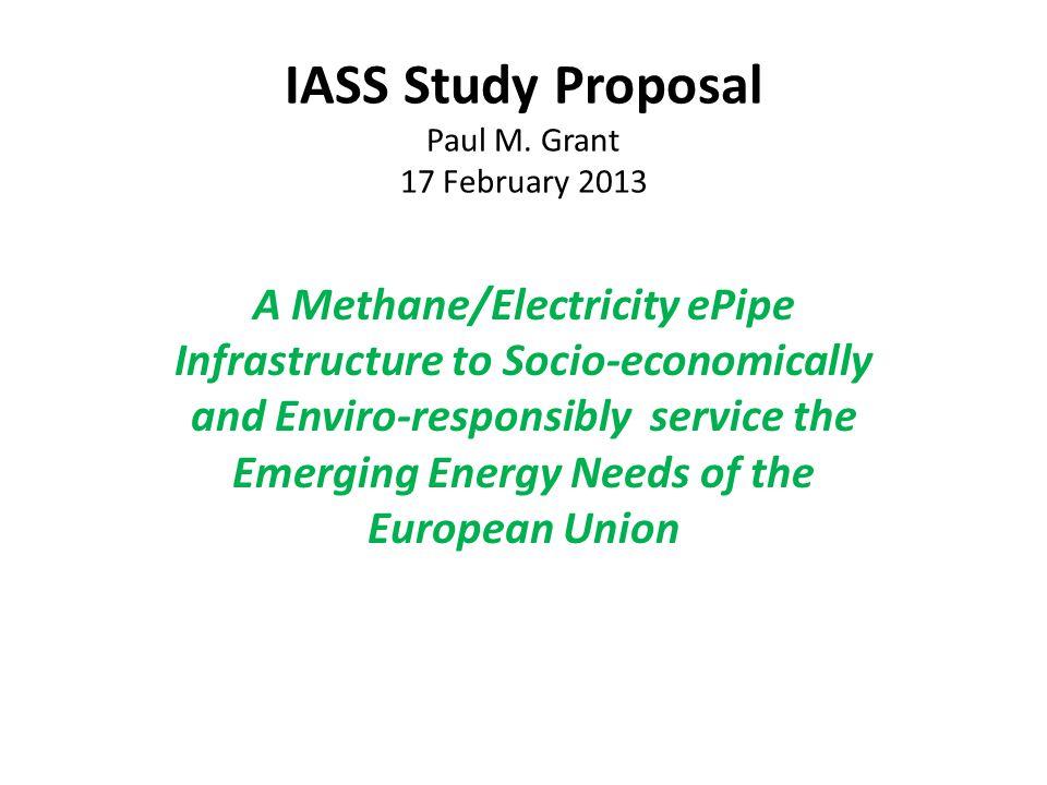IASS Study Proposal Paul M.