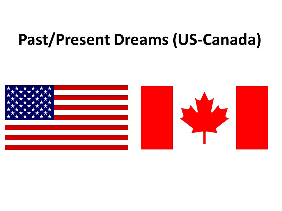 Past/Present Dreams (US-Canada)