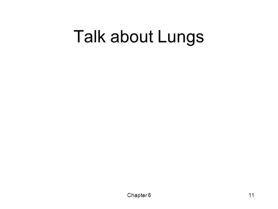 Chapter 611 Talk about Lungs