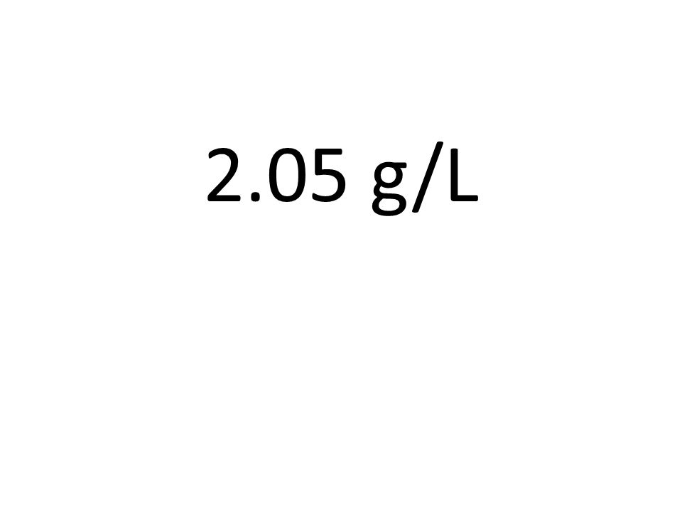 2.05 g/L