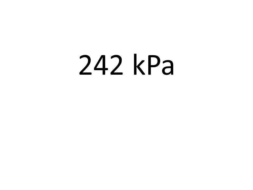 A gas occupies 15.7L at 28°C and 658mmHg.