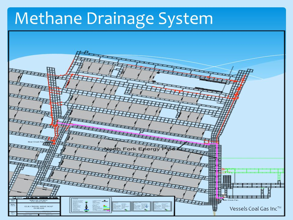 Methane Drainage System 6 Vessels Coal Gas Inc