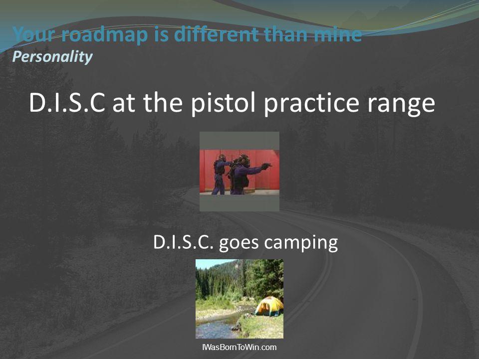D.I.S.C at the pistol practice range IWasBornToWin.com D.I.S.C.