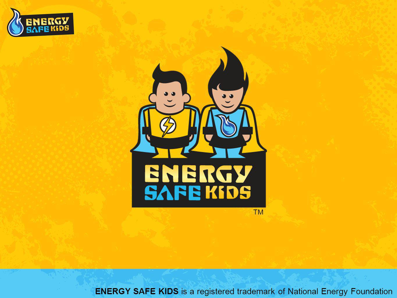ENERGY SAFE KIDS is a registered trademark of National Energy Foundation TM