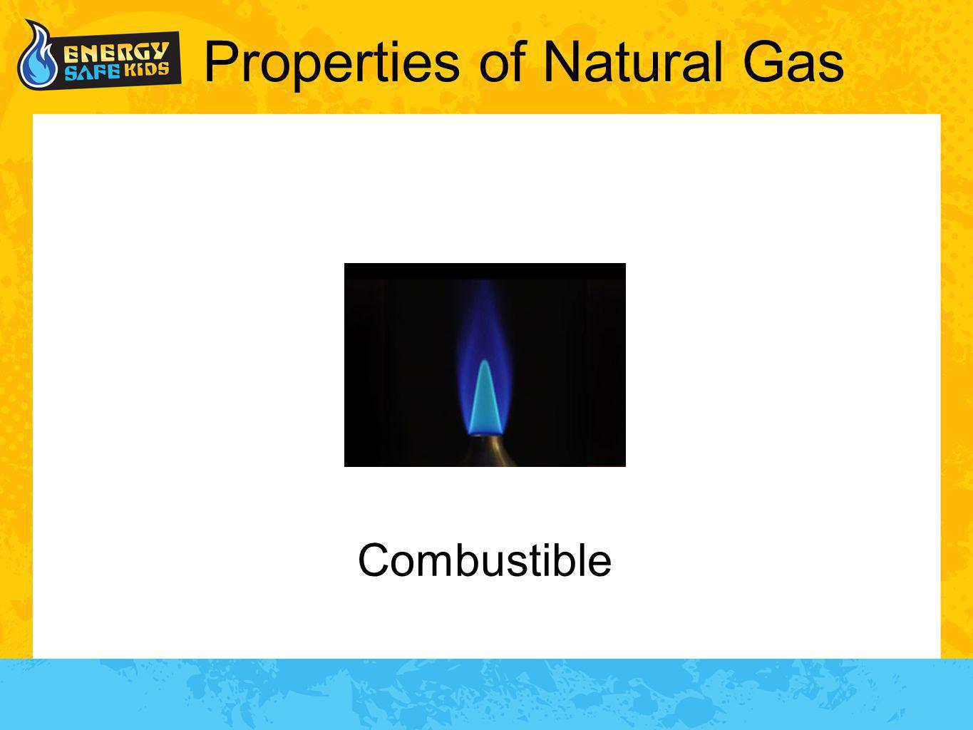 Properties of Natural Gas Combustible