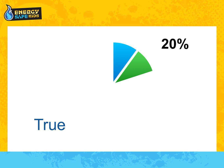 True 20%