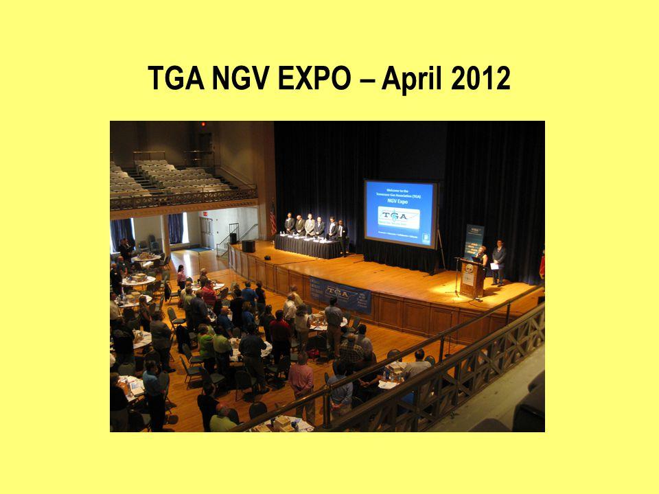 TGA NGV EXPO – April 2012