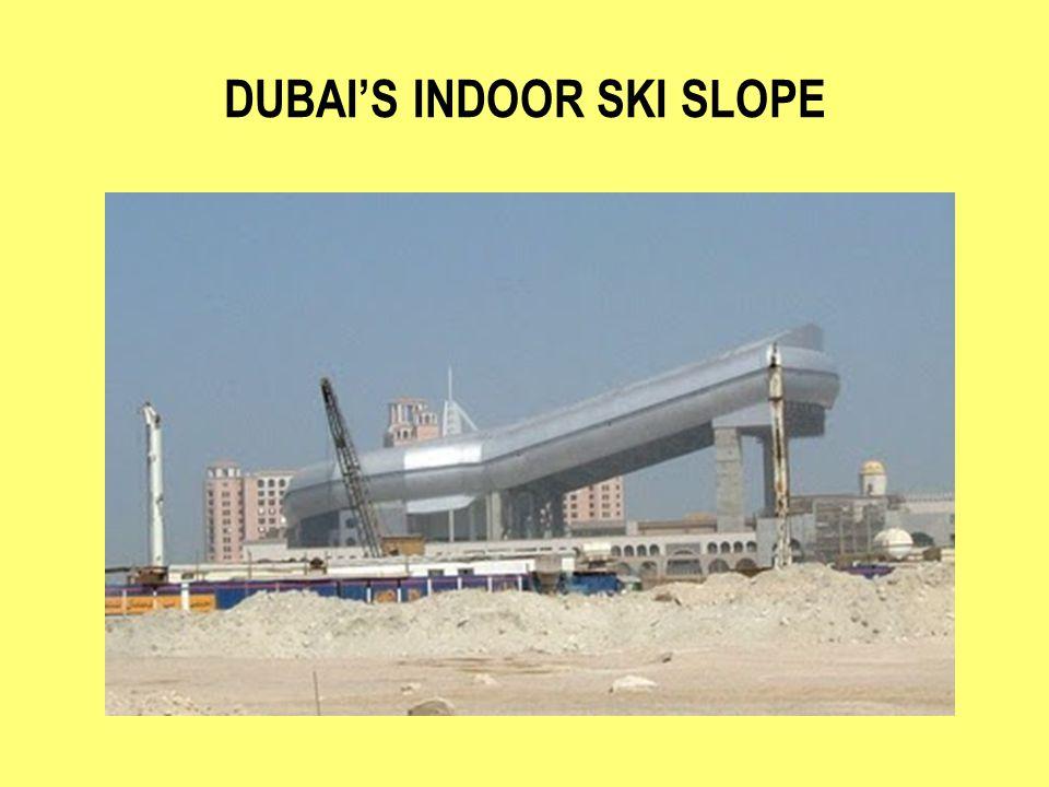 DUBAIS INDOOR SKI SLOPE