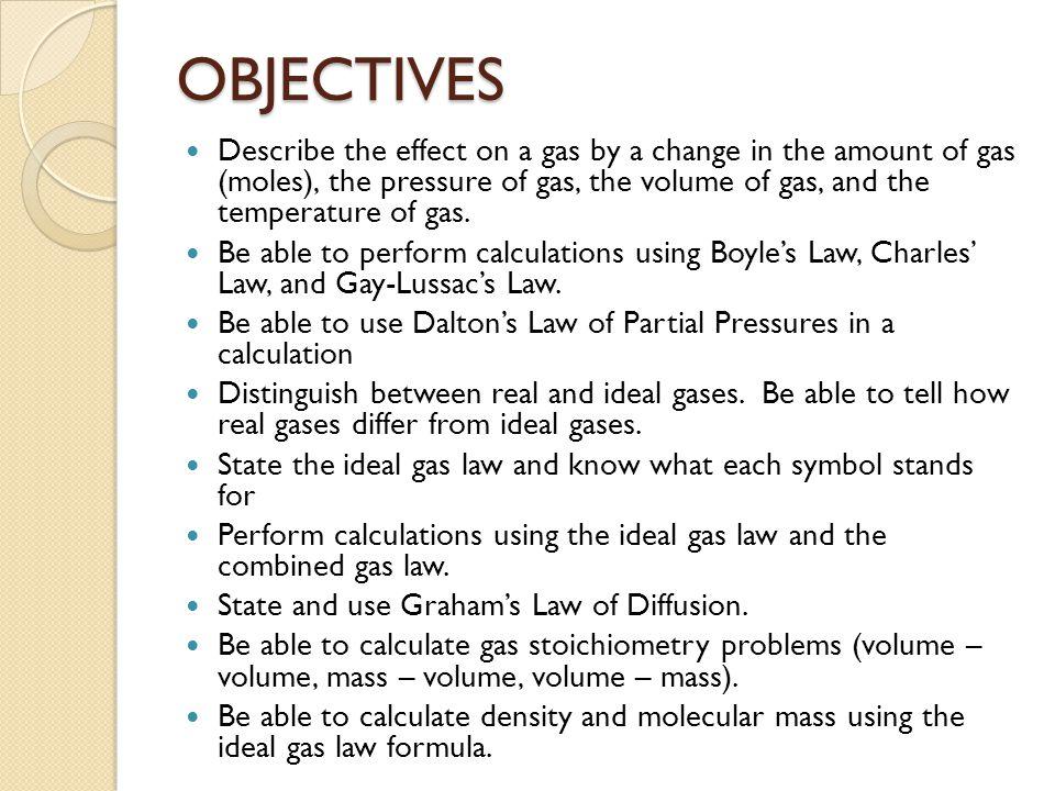 GAS STOICHIOMETRY C. Determine the moles in 251 L of O 2. ?? moles =
