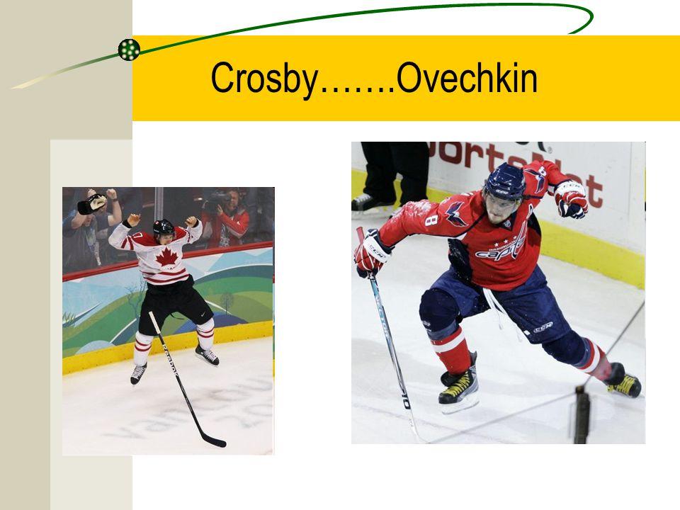 Crosby…….Ovechkin