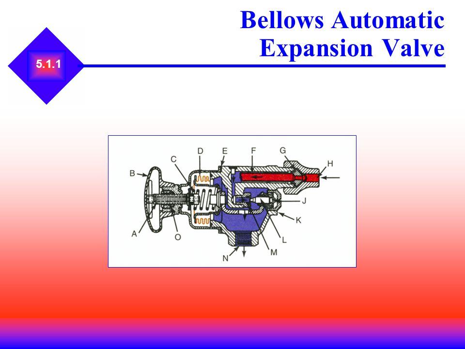 5.1.1 Bellows Automatic Expansion Valve