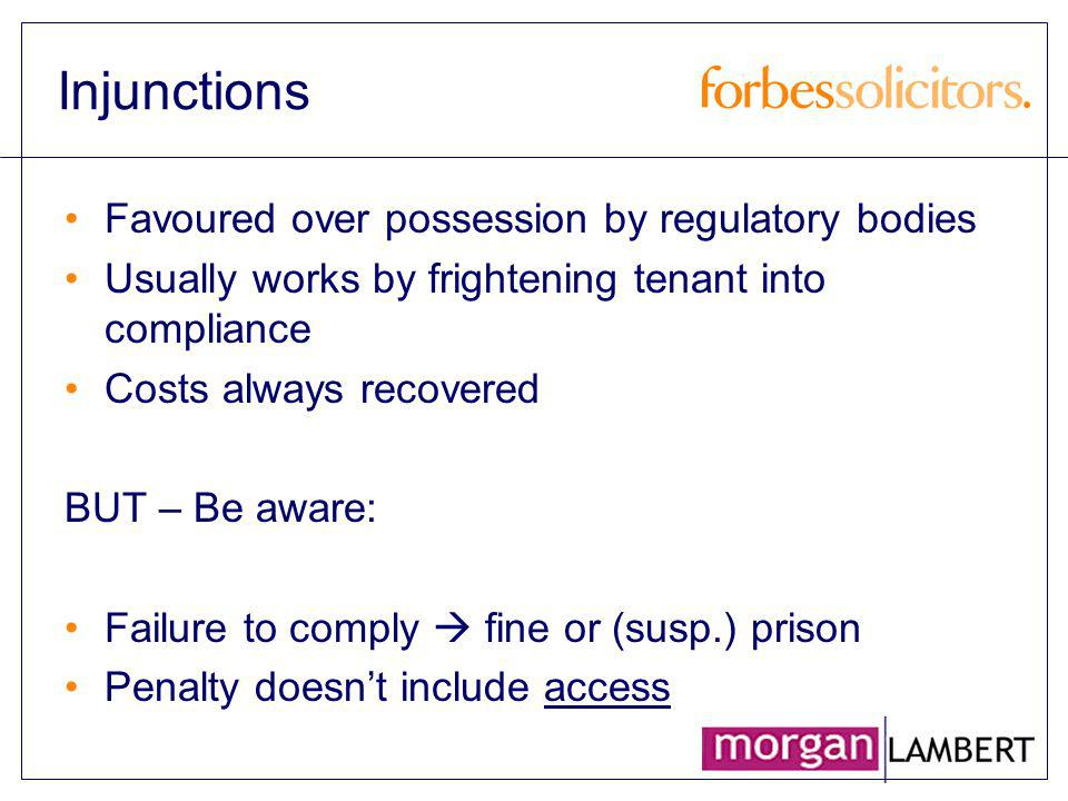 Introduction Gas Safety (Installation & Use) Regulations 1998 as amended Regulation 36 Duties of Landlords Regulation 39 Exception as to Liability no person shall be guilty of an offence by reason of contravention…….