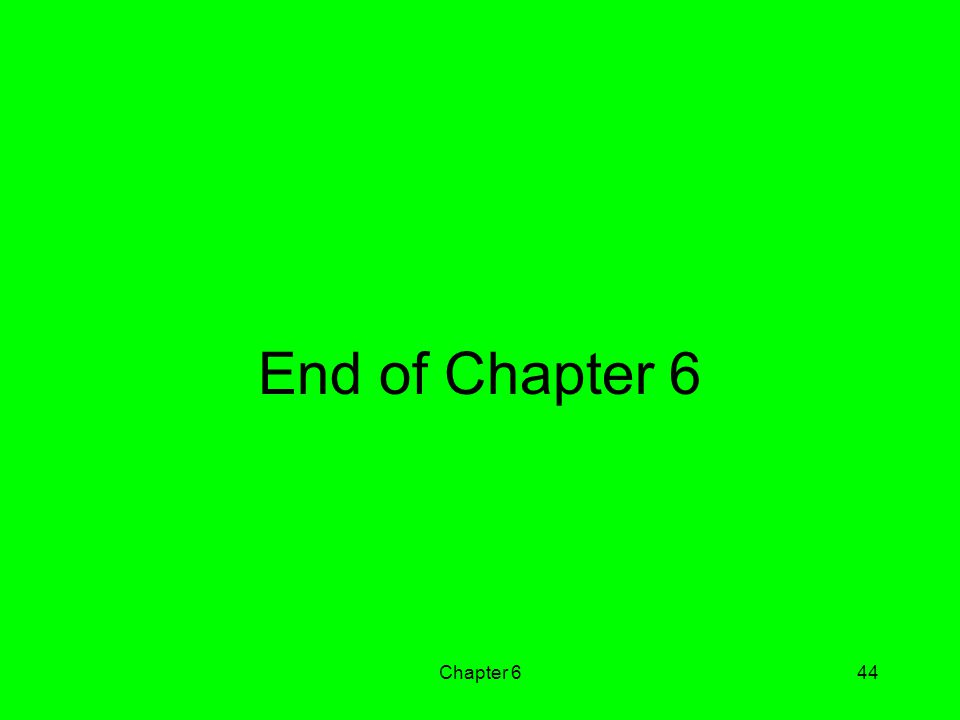 Chapter 644 End of Chapter 6