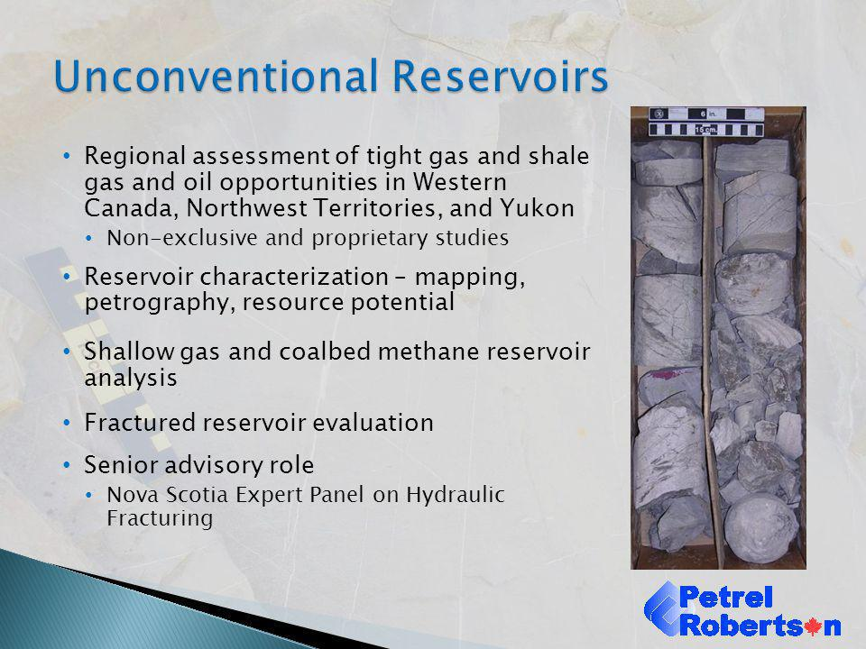 Hydrogeology Waterline Resources Geoscience and Related Specialists Hayden Geoconsultants – Reservoir Characterization JC Consultants – Reservoir Characterization Foundry Spatial – Surface Waters and GIS Strategic West – Strategic Resource Development Integrated Water Resources – Water Assessments Dr.