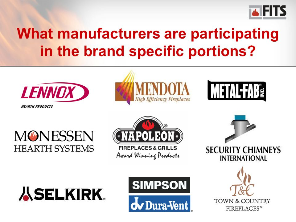 17 What manufacturers are participating in the brand specific portions