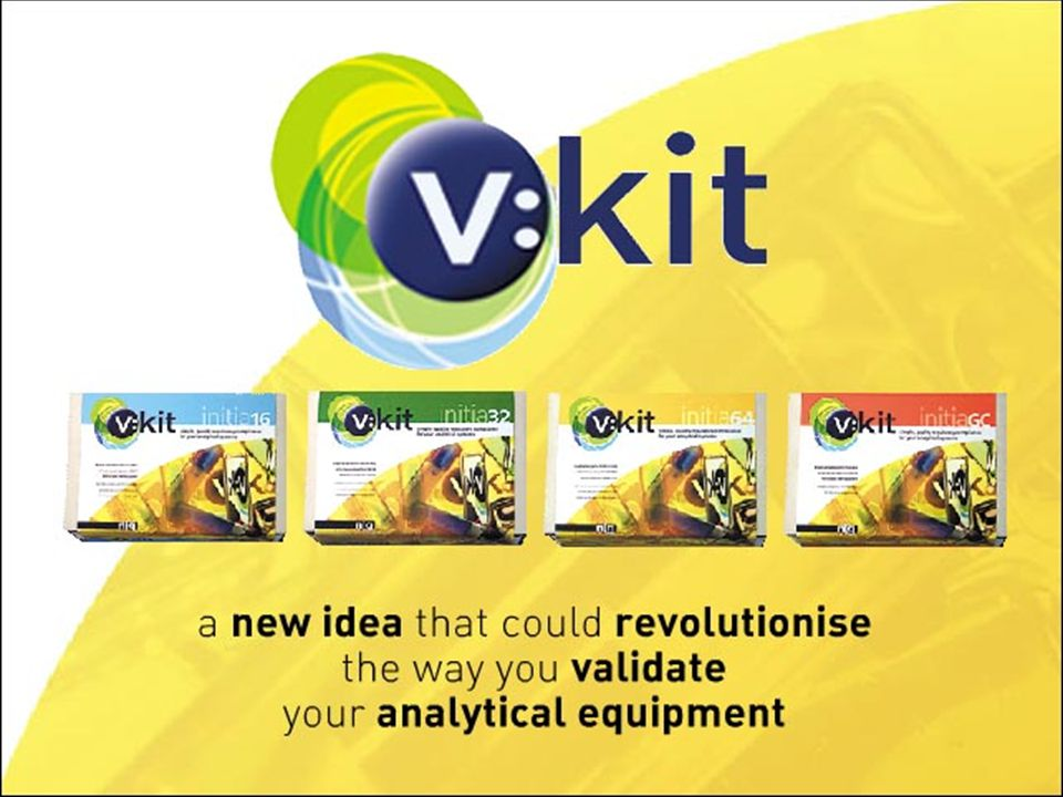 VKIT - SP Take the strain out of delivering detector accuracy and linearity solutions by using the v: kit Syringe Pump It also allows easier flushing of detector cells, permitting quicker detector OQ.
