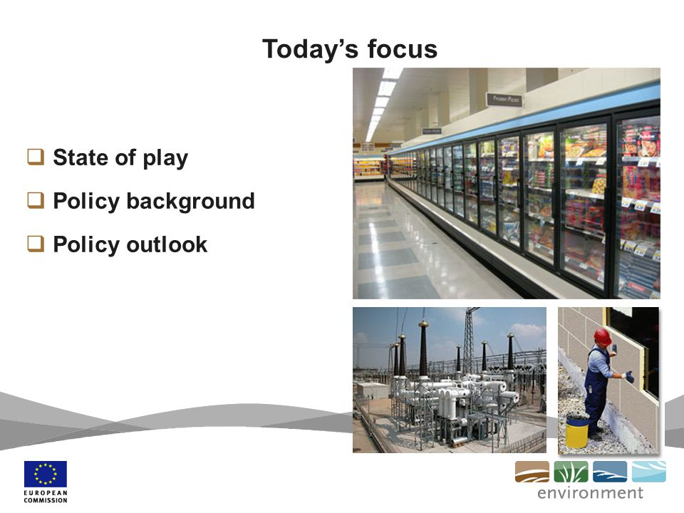 State of play Policy background Policy outlook Todays focus