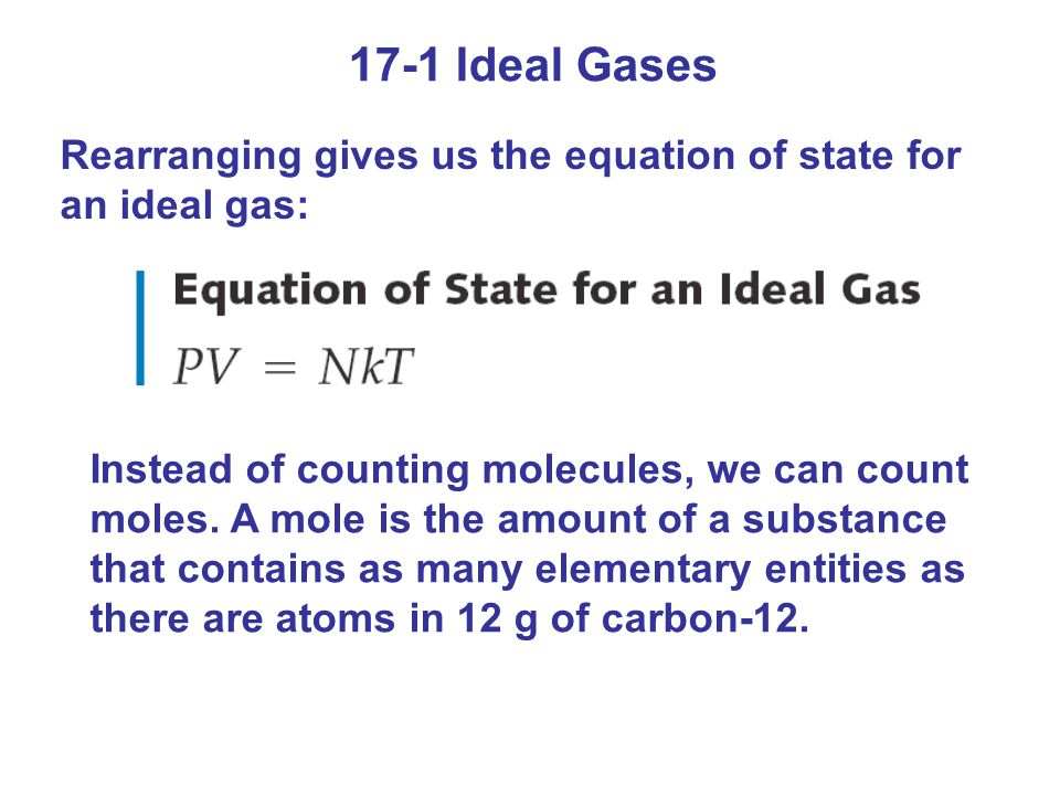 17-5 Latent Heats When two phases coexist, the temperature remains the same even if a small amount of heat is added.