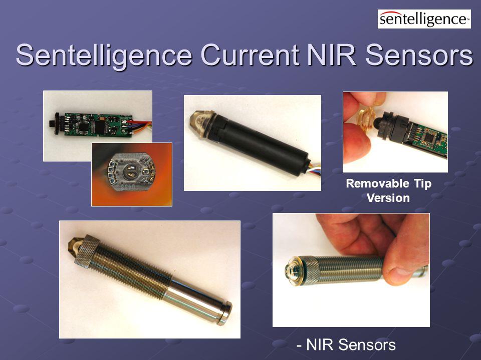 Removable Tip Version Sentelligence Current NIR Sensors Sentelligence Current NIR Sensors - NIR Sensors