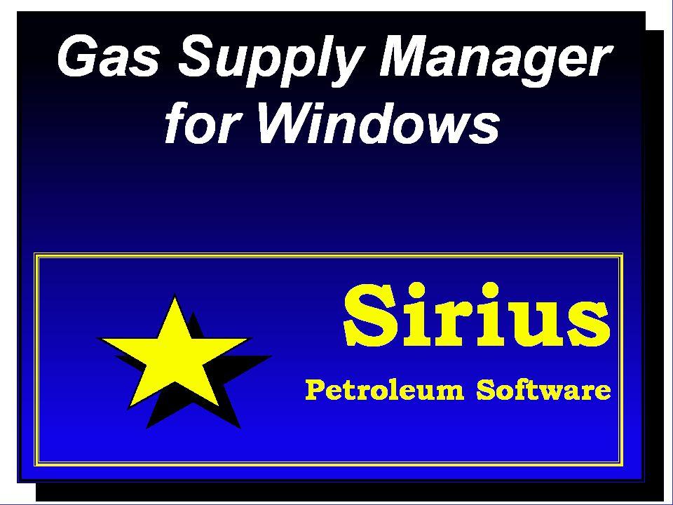 GSM, Sirius Petroleum Software22 Reports