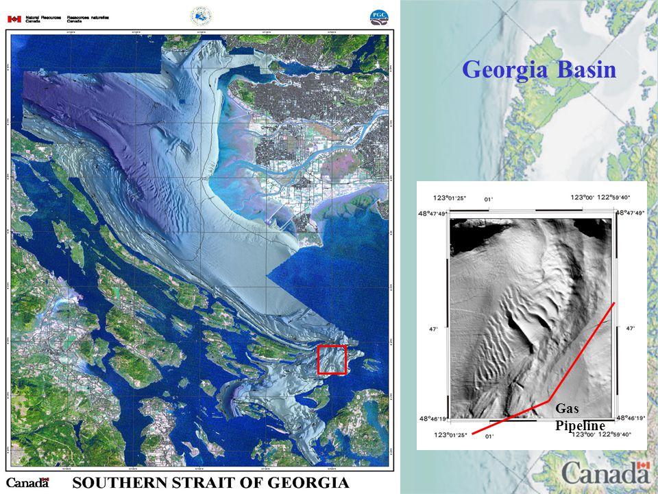 Gas Pipeline Georgia Basin