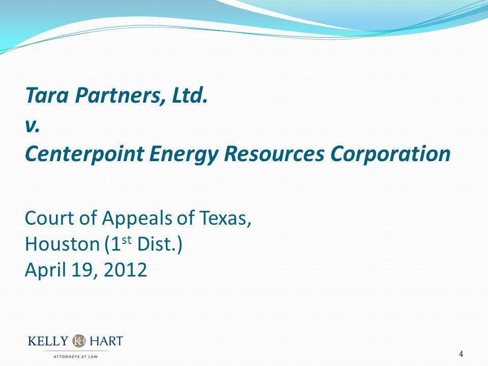 Tara Partners, Ltd.v.