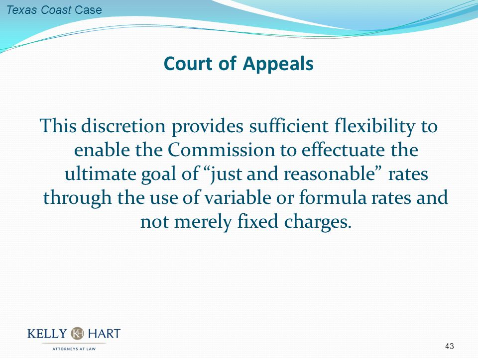 This discretion provides sufficient flexibility to enable the Commission to effectuate the ultimate goal of just and reasonable rates through the use of variable or formula rates and not merely fixed charges.