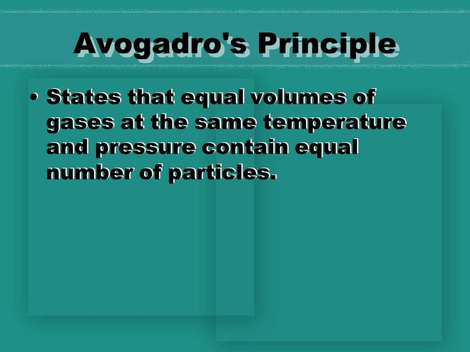 Gas Laws Lesson 3