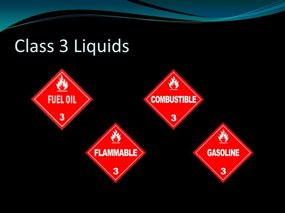 Class 3 Liquids