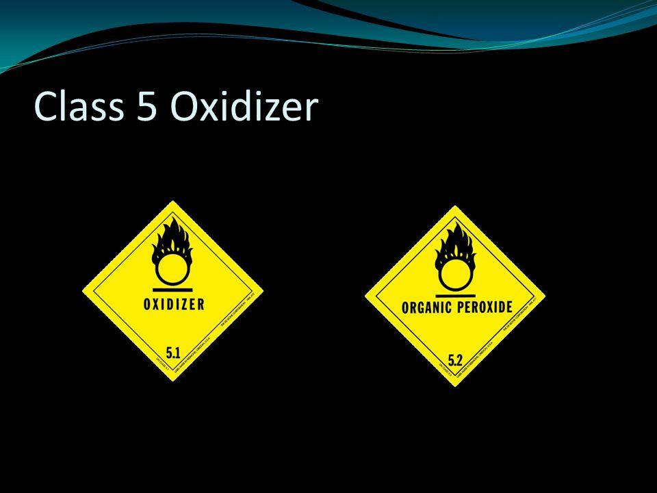 Class 5 Oxidizer