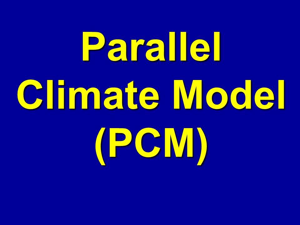 Parallel Climate Model (PCM)
