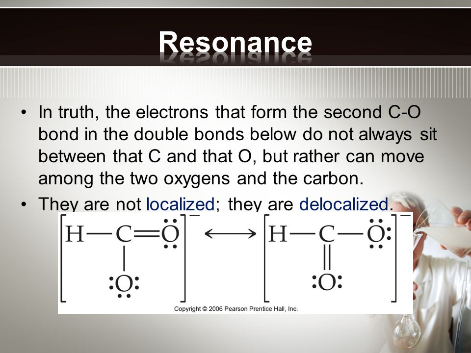 In truth, the electrons that form the second C-O bond in the double bonds below do not always sit between that C and that O, but rather can move among