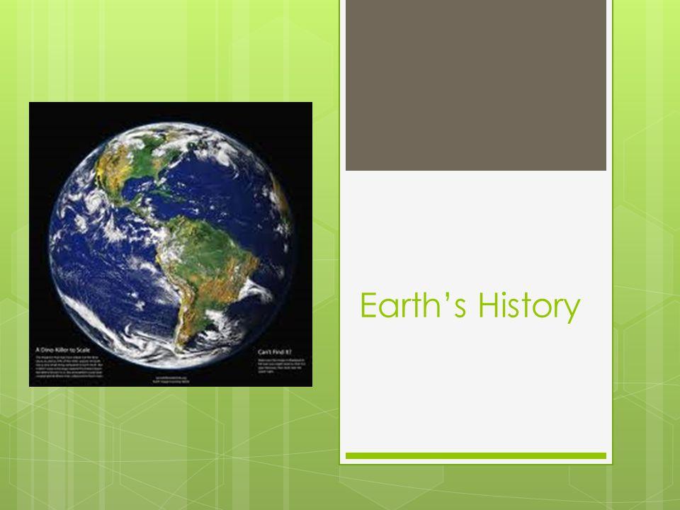 Earths History
