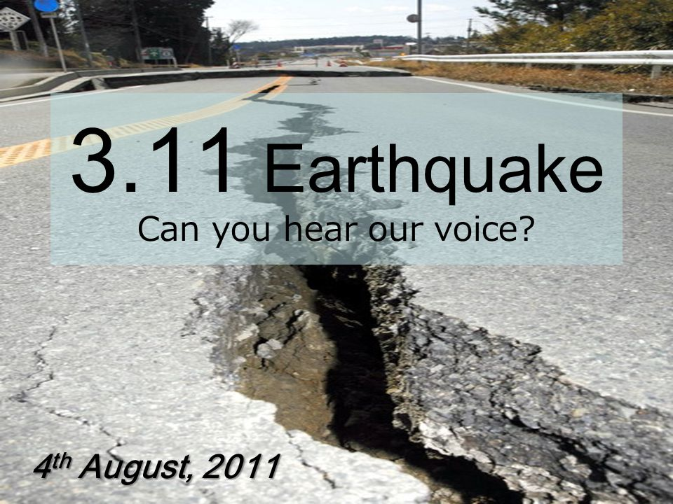 Earthquake history in Japan