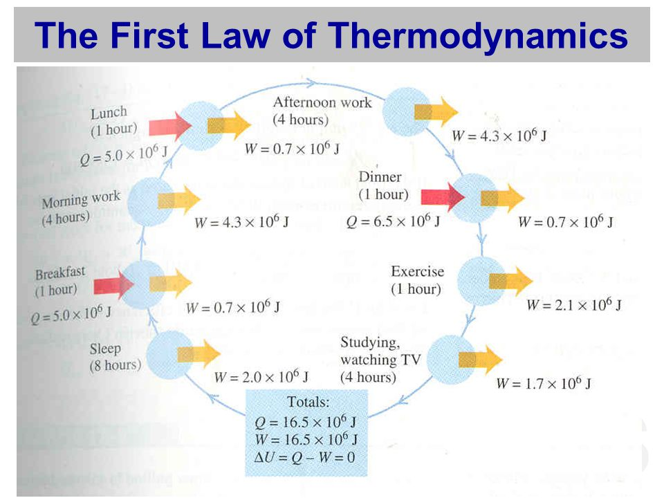 MFS The First Law of Thermodynamics