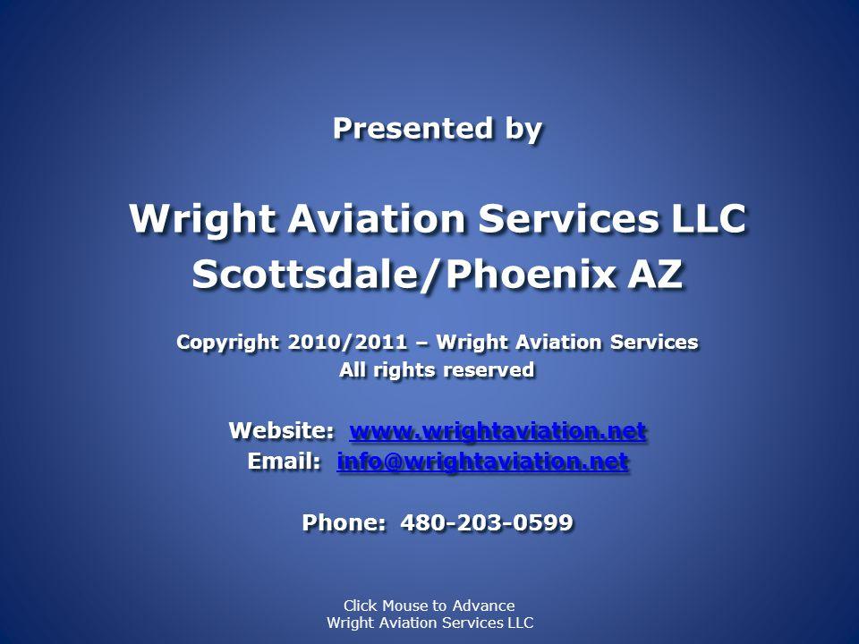 Meridian Power Plant - PT6A-42A THE END PresentationBy Wright Aviation Services LLC www.WrightAviation.net 480-203-0599 ©Copyright 2010/2011 Wright Av