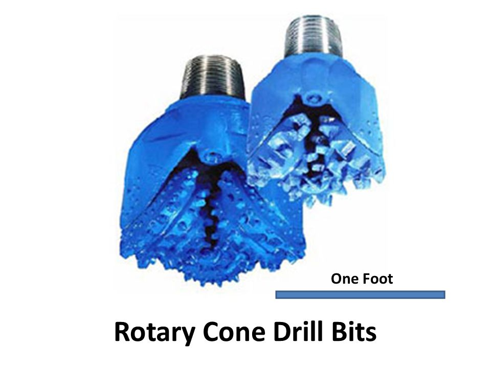 Rotary Cone Drill Bits One Foot