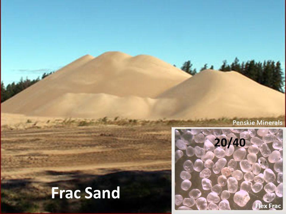 Frac Sand Penskie Minerals 20/40 Flex Frac