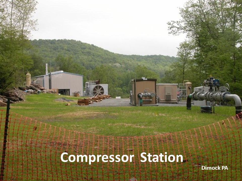 Compressor Station Dimock PA