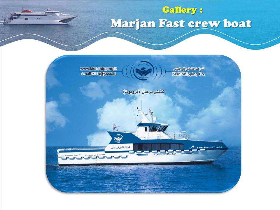 Gallery : Marjan Fast crew boat