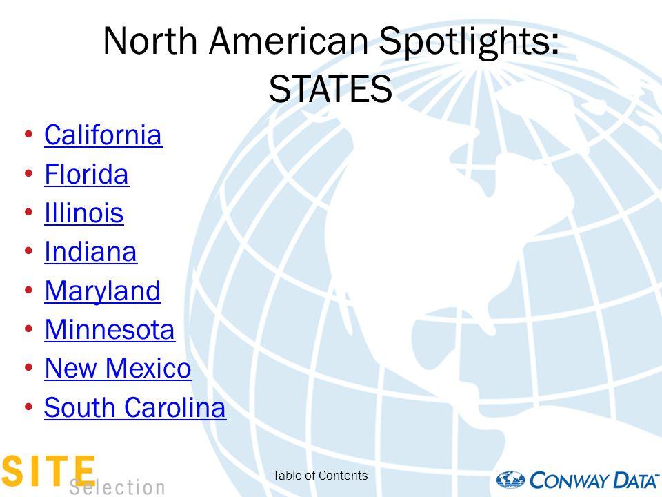 North American Spotlights: STATES Arizona Colorado Georgia Iowa Kentucky Ohio Utah Table of Contents