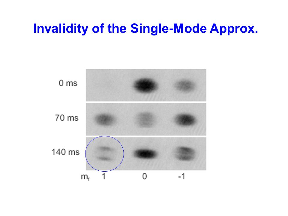 Invalidity of the Single-Mode Approx.