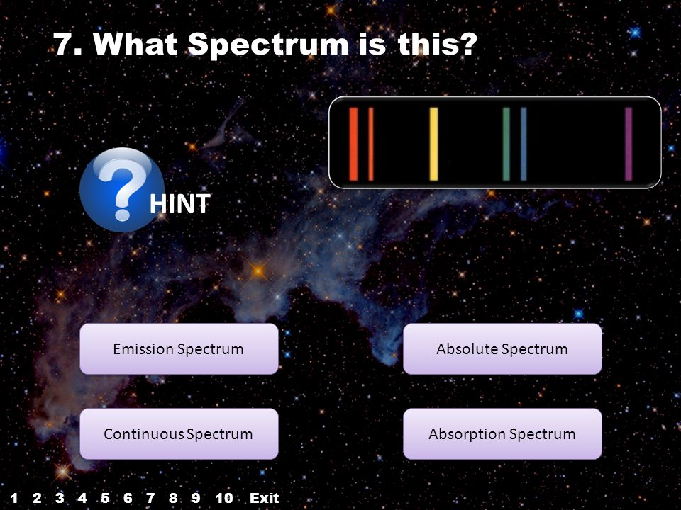 7. What Spectrum is this.