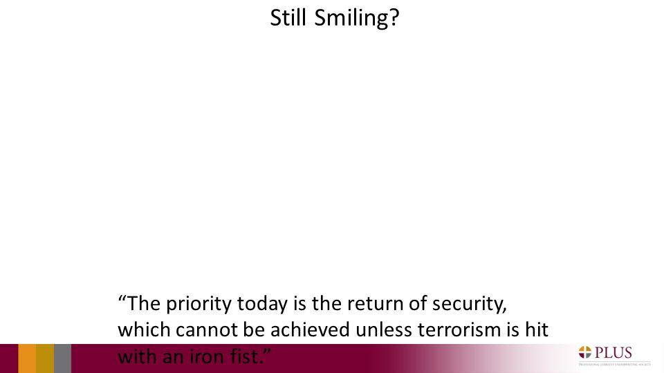 Still Smiling.