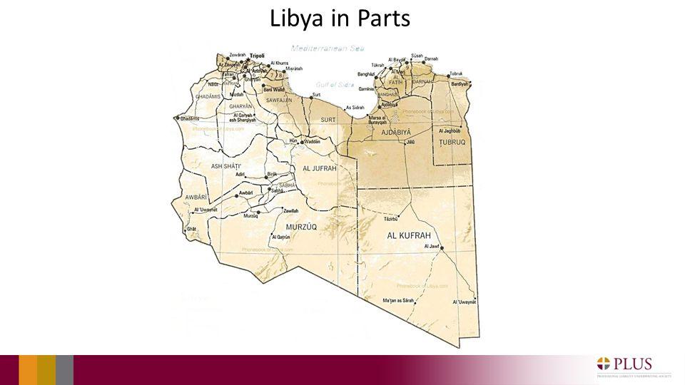 Libya in Parts