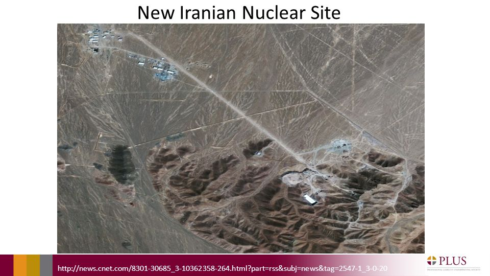 New Iranian Nuclear Site http://news.cnet.com/8301-30685_3-10362358-264.html part=rss&subj=news&tag=2547-1_3-0-20