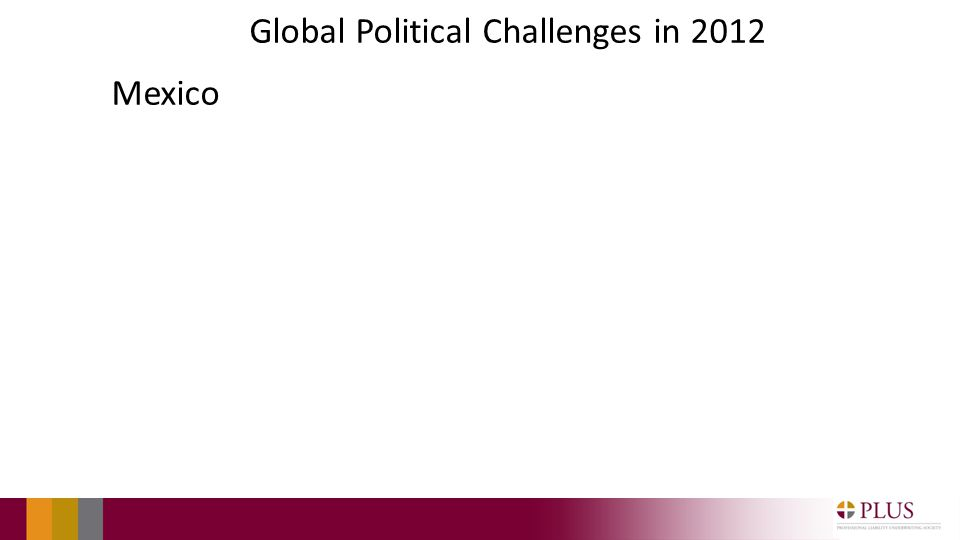 Global Political Challenges in 2012 Mexico