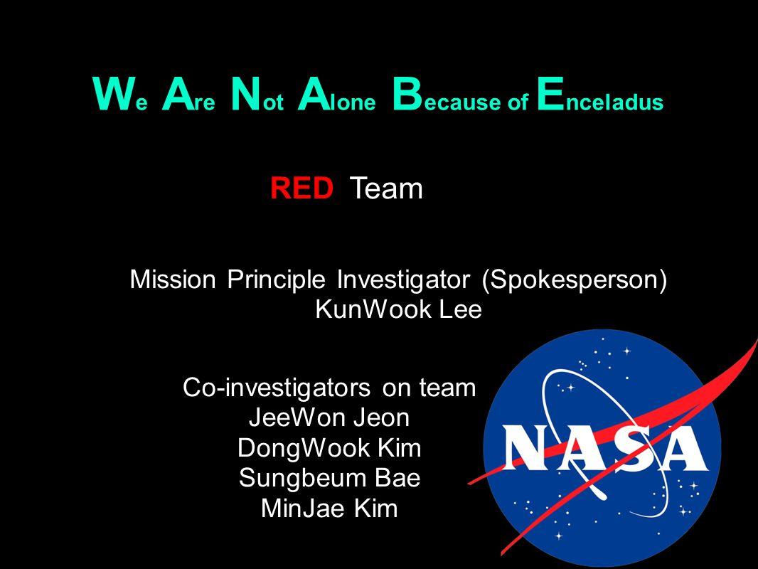 Contents I.Information About Enceladus II. Preparing III.